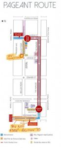 Norwood Pageant Map