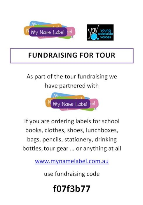 Fundrasing Labels